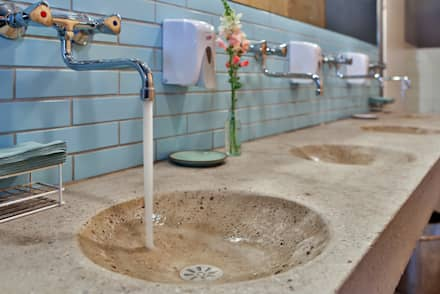Waschbecken:  Hotels von michael adamczyk  - architekt und stadtplaner