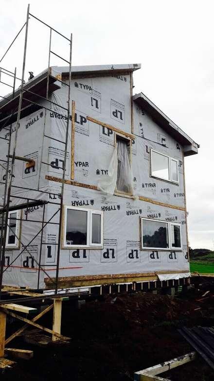 Rumah pasif by Constructora Patagonia Sustentable
