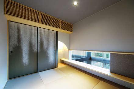 吹抜けを見下ろす和室 : TERAJIMA ARCHITECTSが手掛けた和室です。