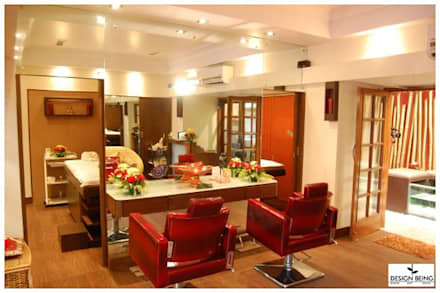 Hair Styling and Salon Treatment:  Commercial Spaces by Design Being