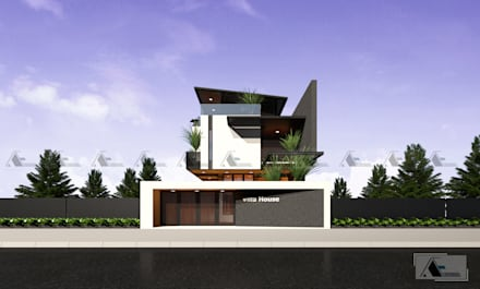 VIEW 1:  Biệt thự by AE STUDIO DESIGN