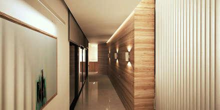 الممر والمدخل تنفيذ Uraiqat Architects
