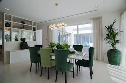 The Nest (2) Mock up Vila: eclectic Dining room by Etcetera Living