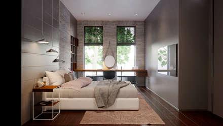 Спальня девочки: Спальни для девочек в . Автор – Архитектурная студия Чадо