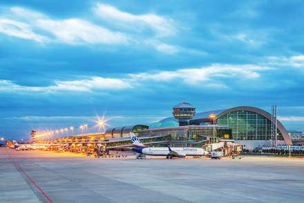 Hazan Mimarlık의  공항
