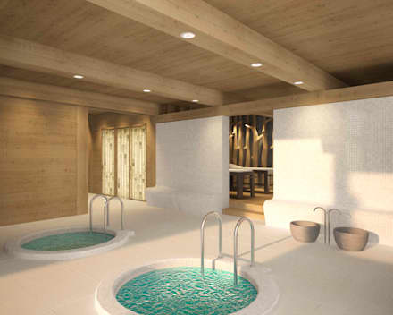Spa in stile In stile Country di ARCHDUET&DA