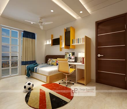 Residence At Dwarka: Boys Bedroom By Design Essentials