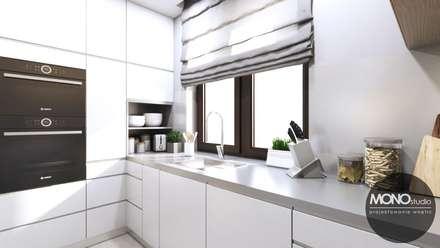 Kuchnia w nowoczesnym klimacie: styl , w kategorii Kuchnia zaprojektowany przez MONOstudio