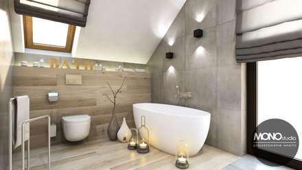 Łazienka w nowoczesnym klimacie: styl , w kategorii Łazienka zaprojektowany przez MONOstudio