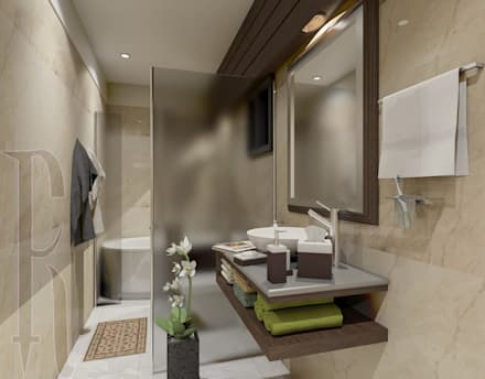 Master Bathroom: modern Bathroom by Ravenor's Design Solutions