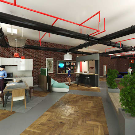 Space Preview:  Office buildings by Ravenor's Design Solutions