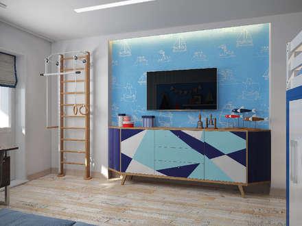 Boys Bedroom by Гузалия Шамсутдинова | KUB STUDIO