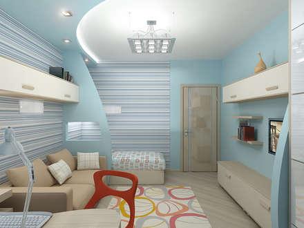Квартира 3: Детские комнаты в . Автор – ИП Поварова Татьяна Владимировна