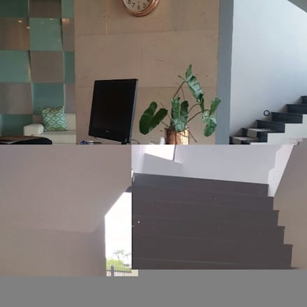 Showroom: Oficinas de estilo minimalista por Grupo Cretto, C.A