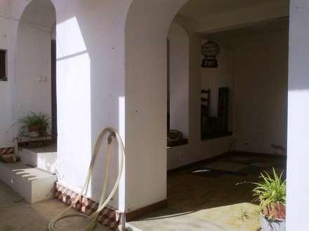 Pátio Interior: Terraços  por Leonor da Costa Afonso