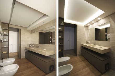 Arredo Bagno Moderno: Bagno in stile in stile Moderno di JFD - Juri Favilli Design