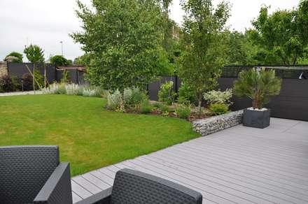 Jardin Chic et Familial: Jardin de style de style Moderne par  Sophie Durin | Empreinte Paysagère