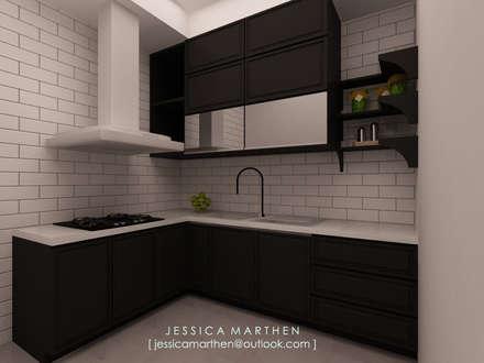 :  Dapur by JESSICA DESIGN STUDIO