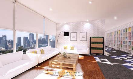 :  Ruang Keluarga by JESSICA DESIGN STUDIO