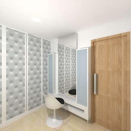 : modern Dressing room by Gurooji Design