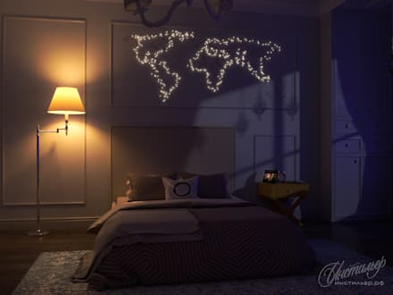 classic Nursery/kid's room by Студия Инстильер   Studio Instilier