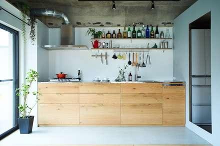 O-HOUSE: .8 / TENHACHIが手掛けたキッチンです。