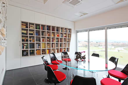Interior Design per uno Studio di Avvocati: Studio in stile in stile Moderno di JFD - Juri Favilli Design