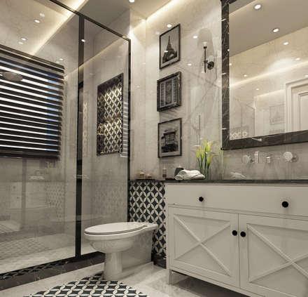 eclectic Bathroom by Levels Studio