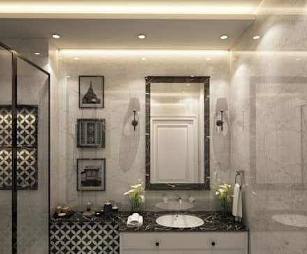 eclectic Bathroom by Levels Studio