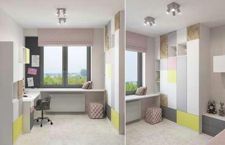 """Квартира в стиле """"Авангард"""": Детские комнаты в . Автор – Center of interior design"""