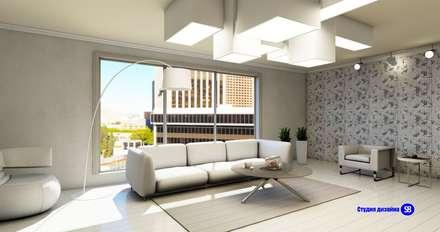 Living room: minimalistic Living room by 'Design studio S-8'