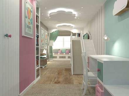 Girls Bedroom by Interior Idea Projektowanie Wnętrz
