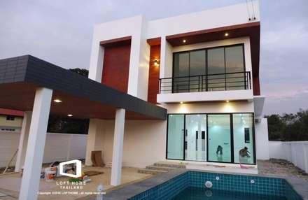 MODERN LOFT 2-STOREY HOMES:  บ้านสำหรับครอบครัว by BEYOND HOME (THAILAND) Co.,Ltd