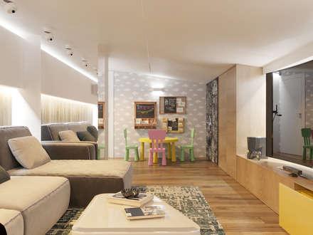 minimalistic Gym by Interior designers Pavel and Svetlana Alekseeva