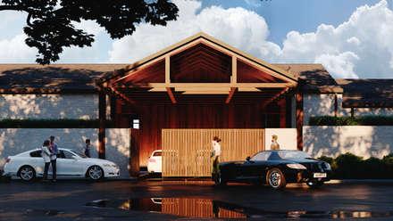 Жилой дом: Загородные дома в . Автор – Архитектурная студия Чадо