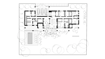 Rumah pedesaan by Архитектурная студия Чадо