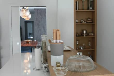 Muebles de cocinas de estilo  por Fares Ksouri Architecte