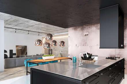 Дизайн кухни: Кухонные блоки в . Автор – Zooi