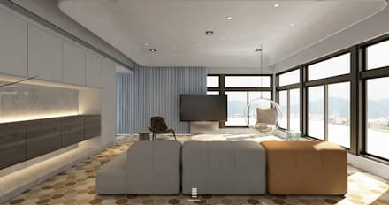 Taichung L House :  影音室 by 質覺制作設計有限公司