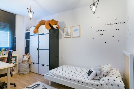 Dormitorio Infantil : Habitaciones infantiles de estilo  por Ópera de Domingo