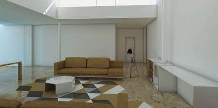 : Salas de estar campestres por Grupo Norma