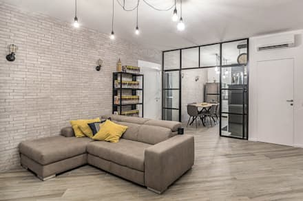 industrial Living room by Facile Ristrutturare