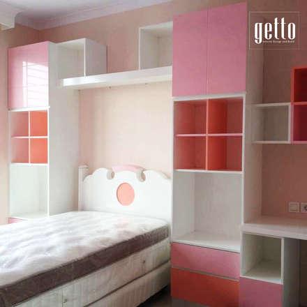 غرفة نوم بنات تنفيذ Getto_id