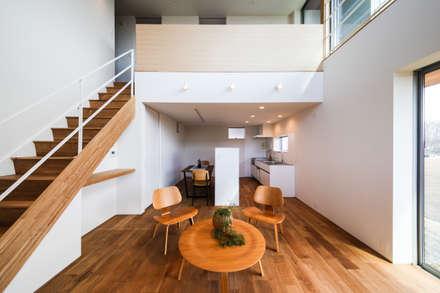 Living Room1: STaD(株式会社鈴木貴博建築設計事務所)が手掛けたリビングです。