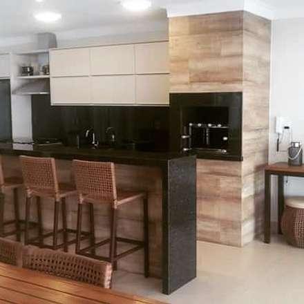 وحدات مطبخ تنفيذ Carla Monteiro Arquitetura e Interiores