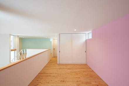やじるしの家: Atelier Monogoto 一級建築士事務所が手掛けた子供部屋です。