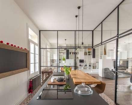 Sbl cuisine de style de style minimaliste par brengues le pavec architectes