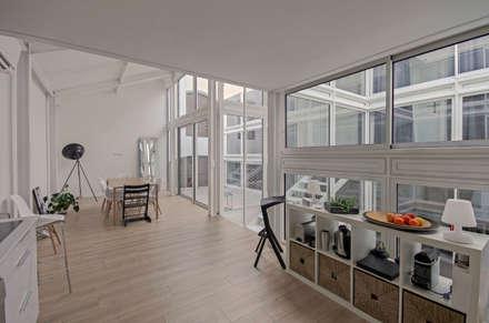 RUX: Cuisine de style de style Minimaliste par Brengues Le Pavec architectes