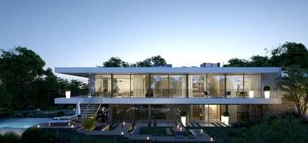 CML: Maisons de style de style Minimaliste par Brengues Le Pavec architectes