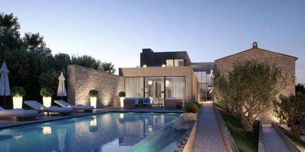 BYL: Maisons de style de style Minimaliste par Brengues Le Pavec architectes
